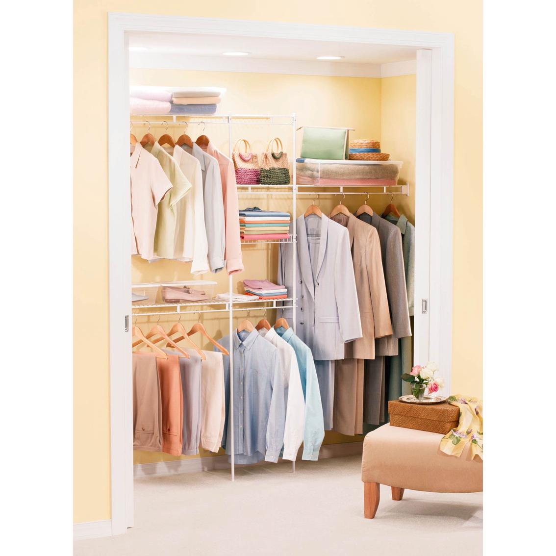 Rubbermaid Closet Kit Rein