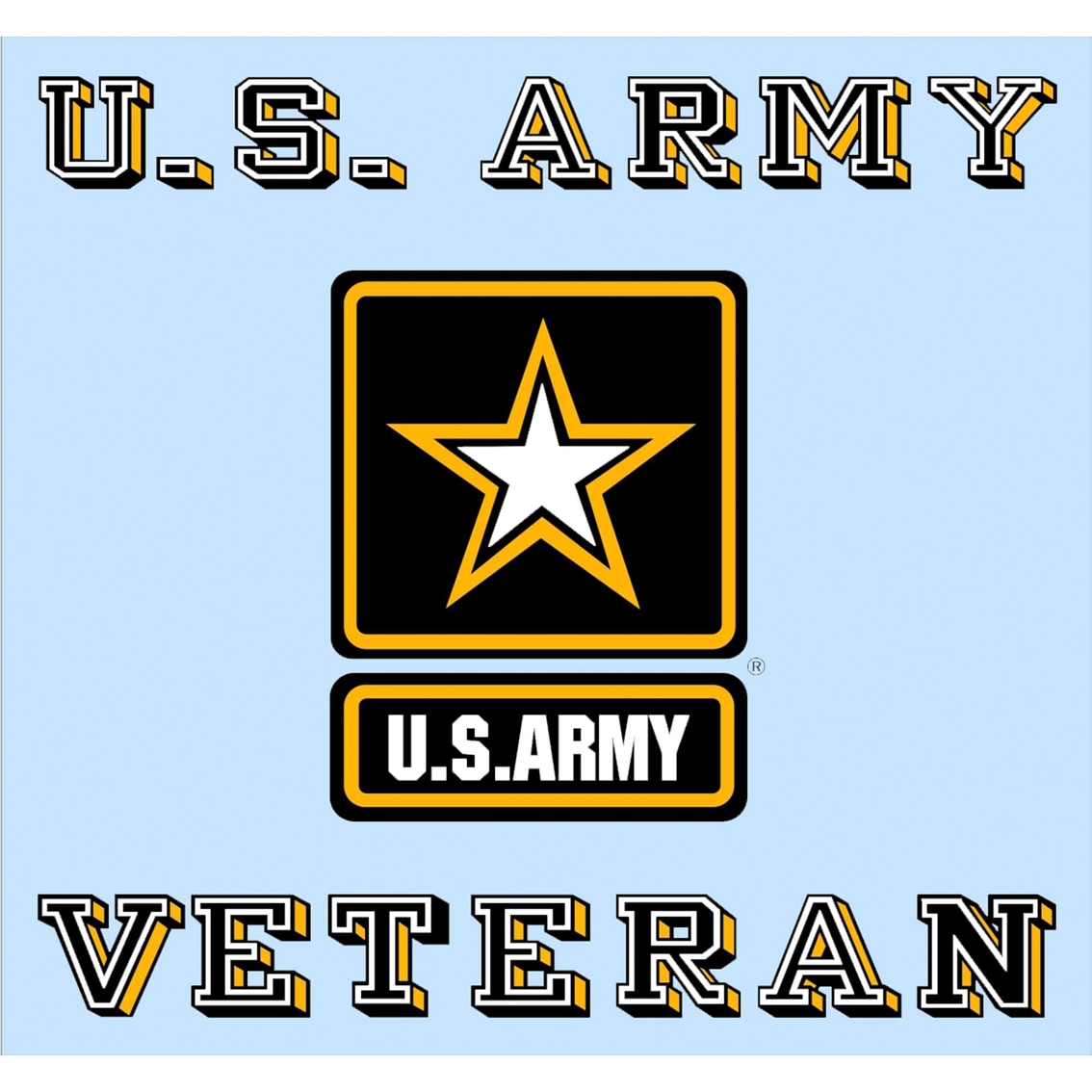 mitchell proffitt u s army veteran star logo decal military logo rh shopmyexchange com