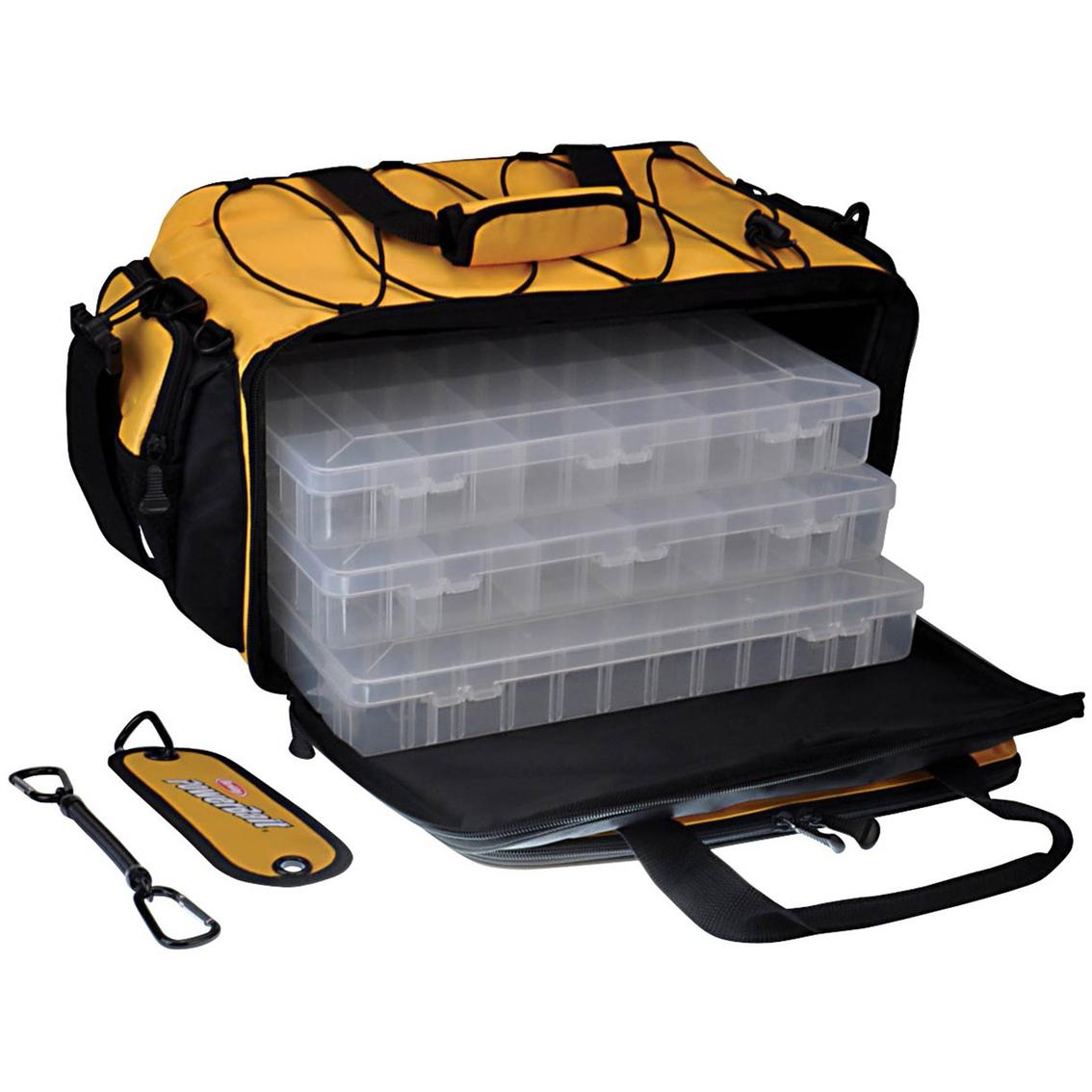 Berkley powerbait medium tackle bag fishing accessories for Berkley fishing apparel