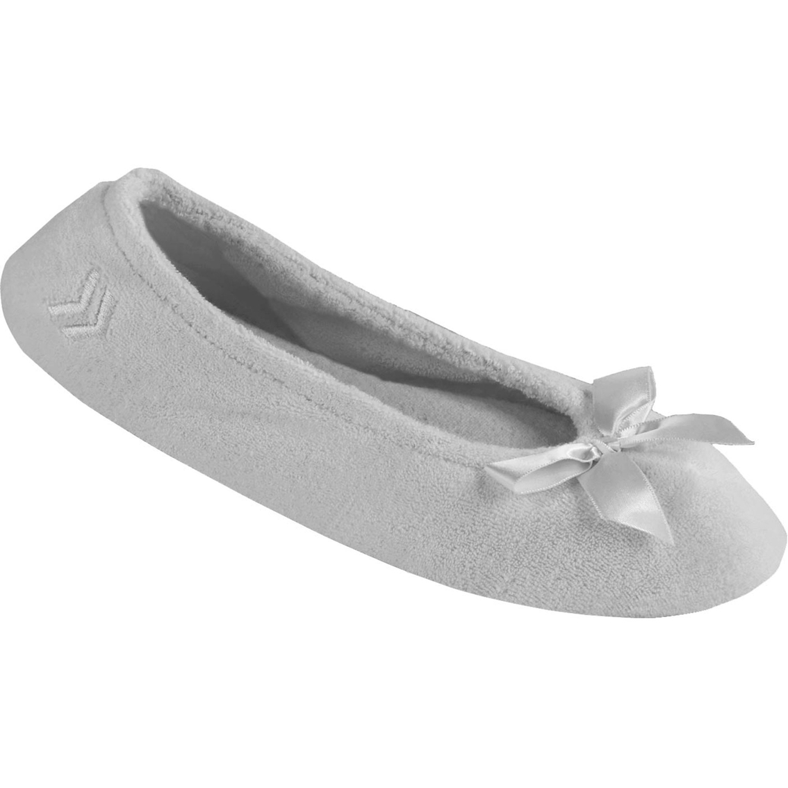 198556980db Isotoner Classic Terry Ballerina Slippers