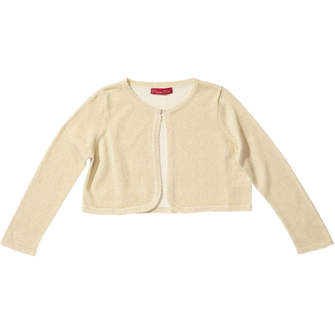 Princess Faith Little Girls/girls Metallic Shrug Cardigan | Coats ...