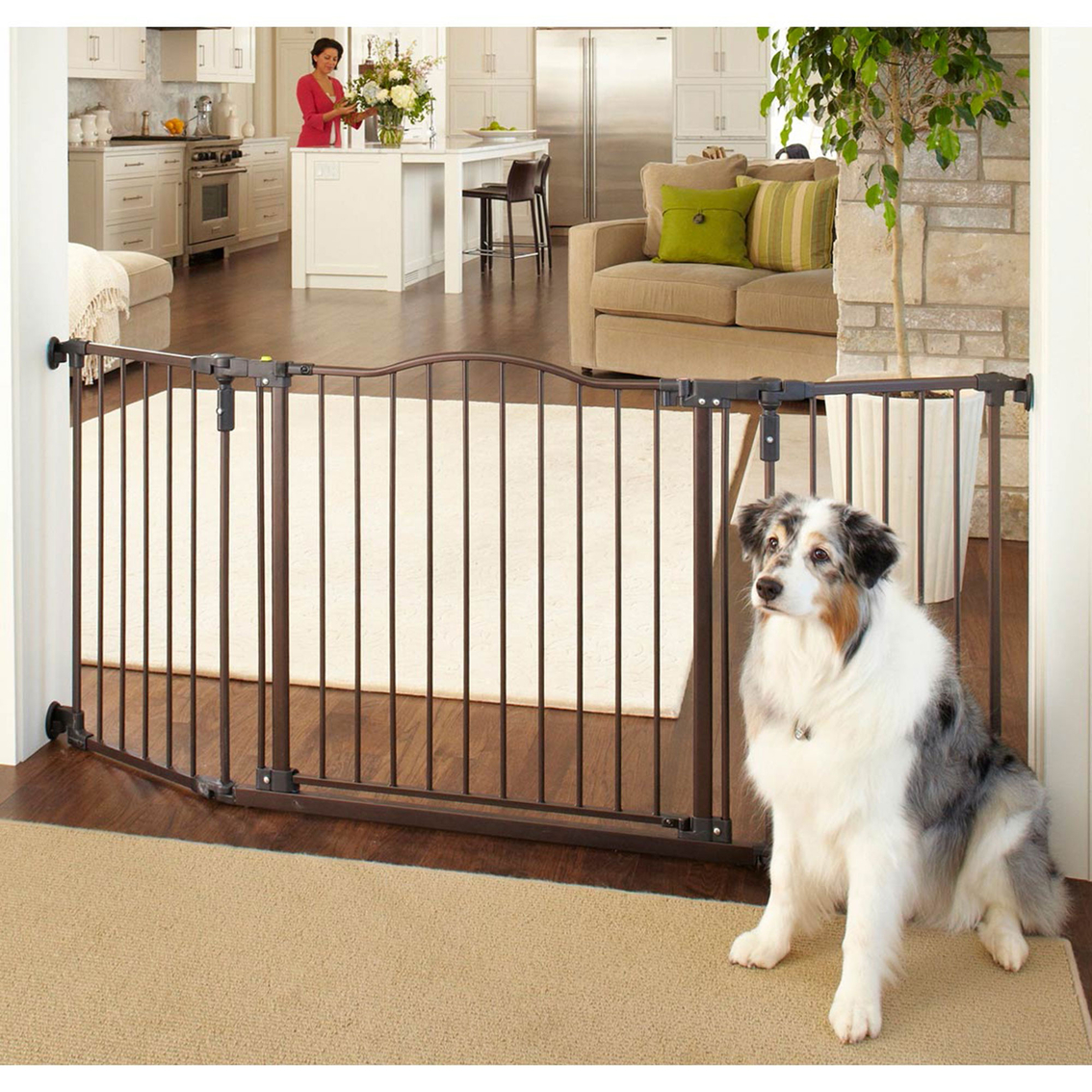 North States Deluxe Decor Gate Carriers Amp Containment