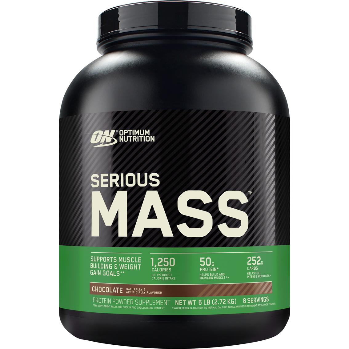 Optimum Nutrition Serious Mass Supplement 6 Lb Protein