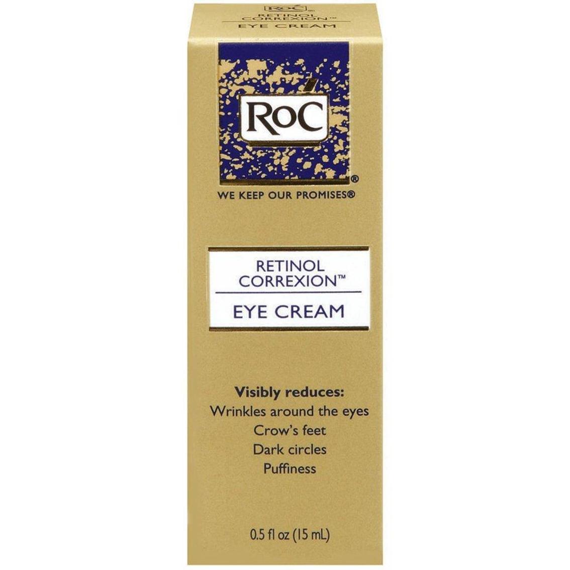 Roc Retinol Correxion Eye Cream 0 5 Oz Eye Treatment Beauty