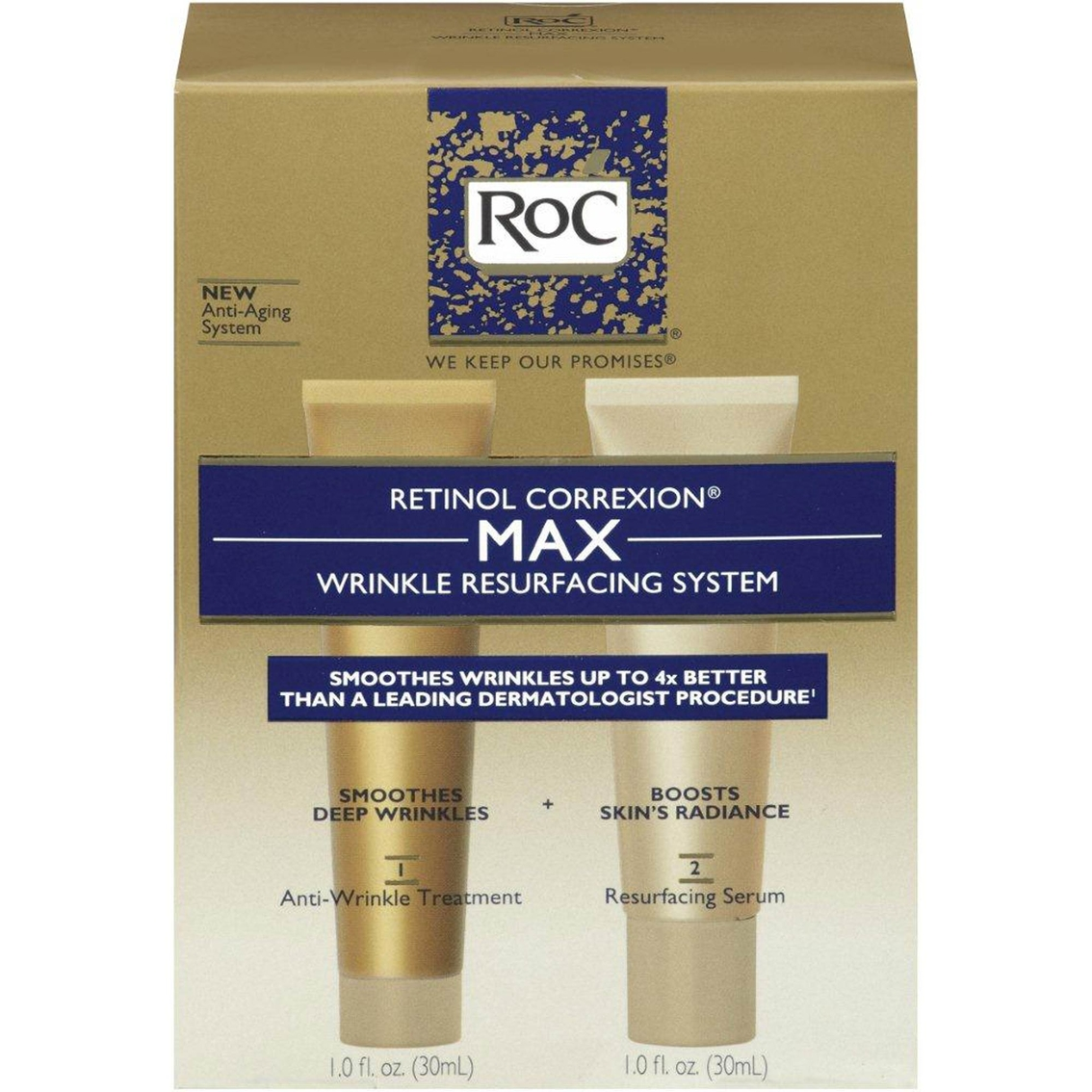 Roc Retinol Correxion Max Wrinkle Resurfacing System 2