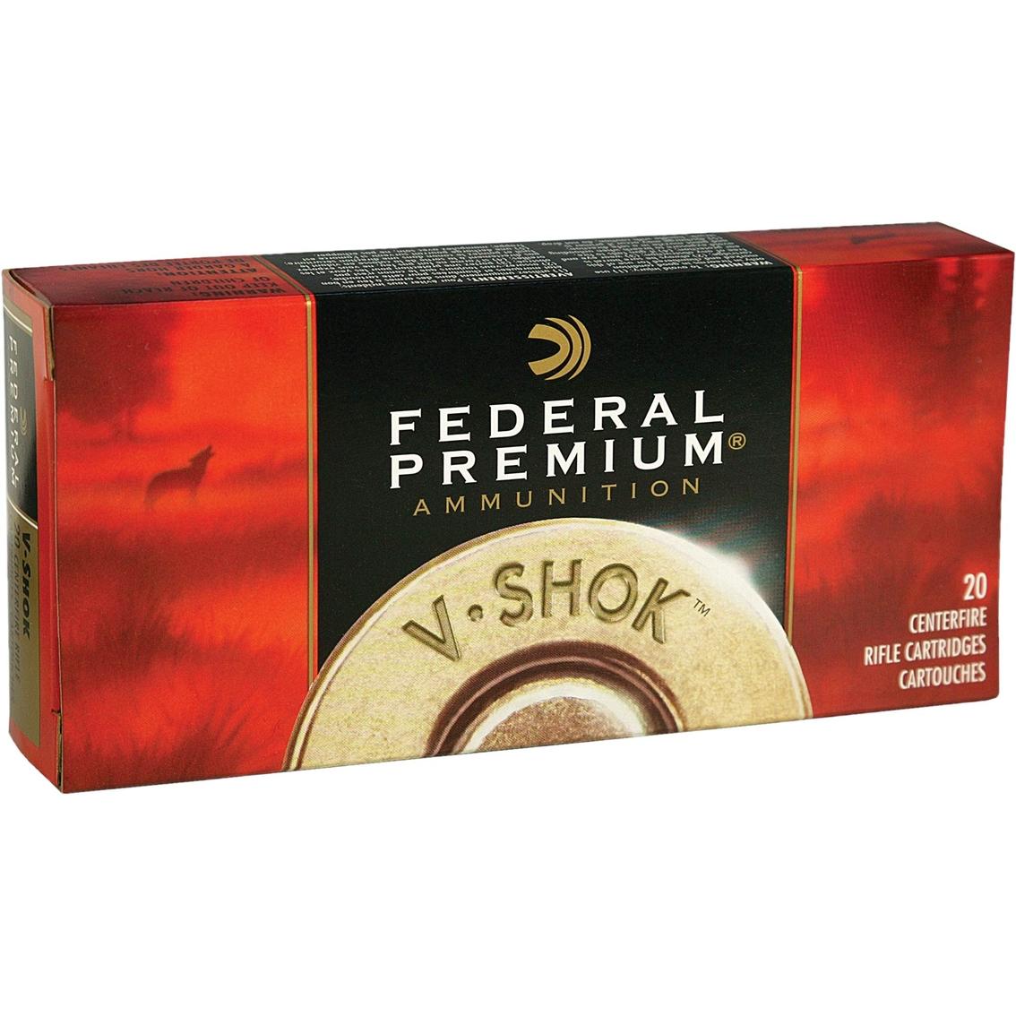 Federal Vital-shok .375 H&h 300 Gr. Nosler Partition, 20 Rounds - Rifle Ammunition - Sports & Outdoors - Shop The Exchange - 웹