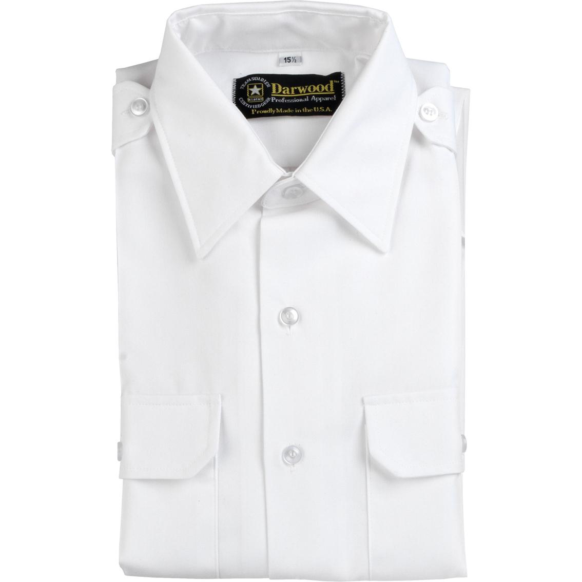 Dlats men 39 s long sleeve asu shirt shirts military for White military dress shirt