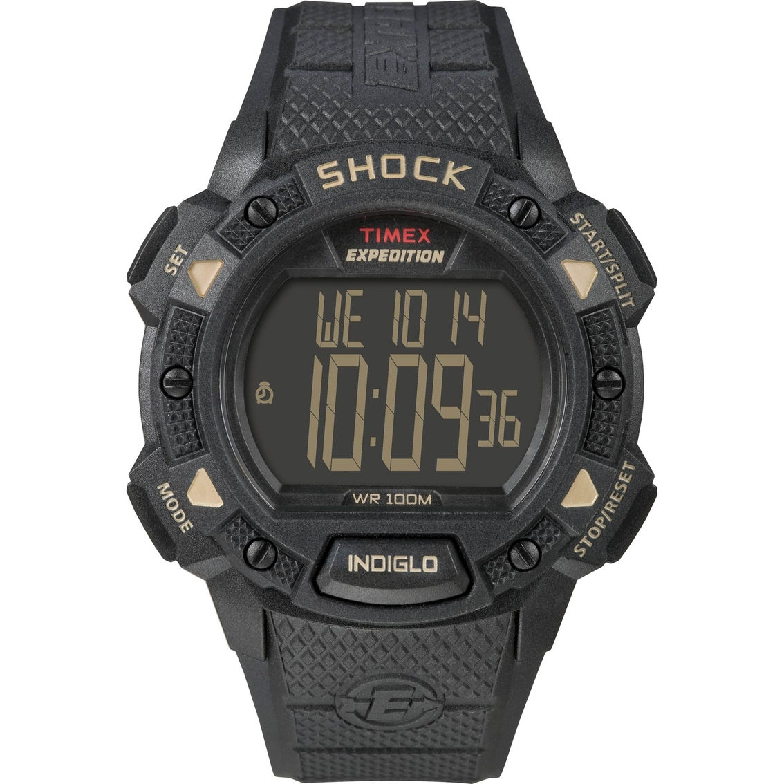 a0c0e2461 Timex Men's Expedition Shock Resistant Digital Chrono Alarm Timer Watch  49896CB