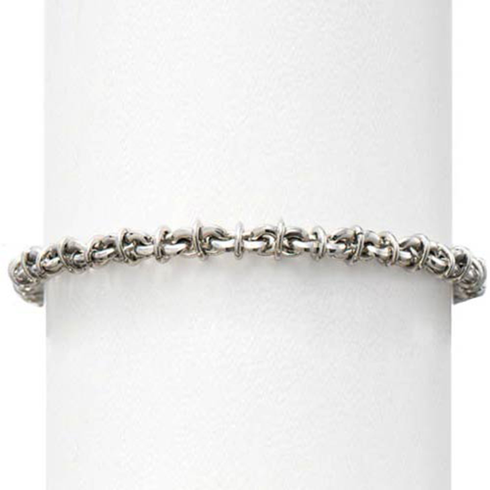 Stainless Steel Barbed Wire Bracelet
