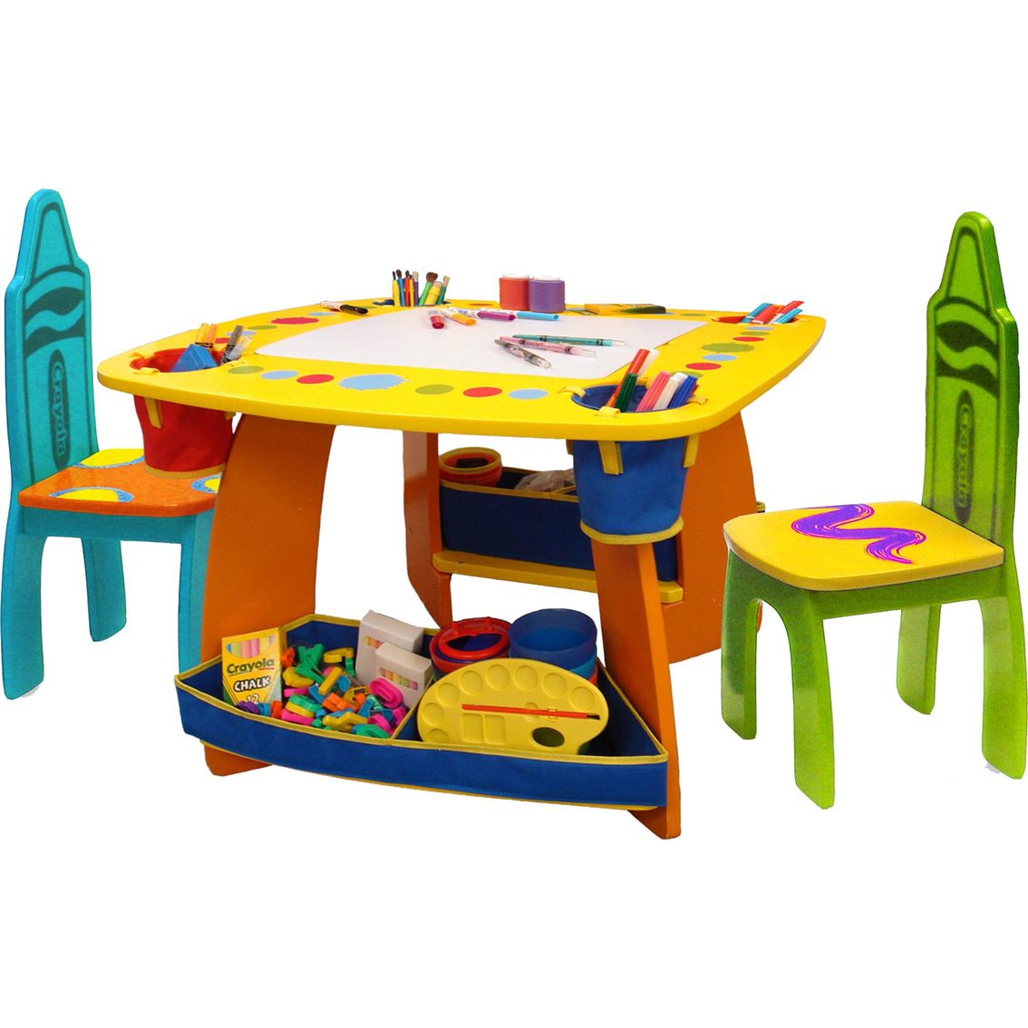 Growu0027n Up Crayola Table and Chair Set  sc 1 st  ShopMyExchange.com & Growu0027n Up Crayola Table And Chair Set | Easels u0026 Tables | Baby ...