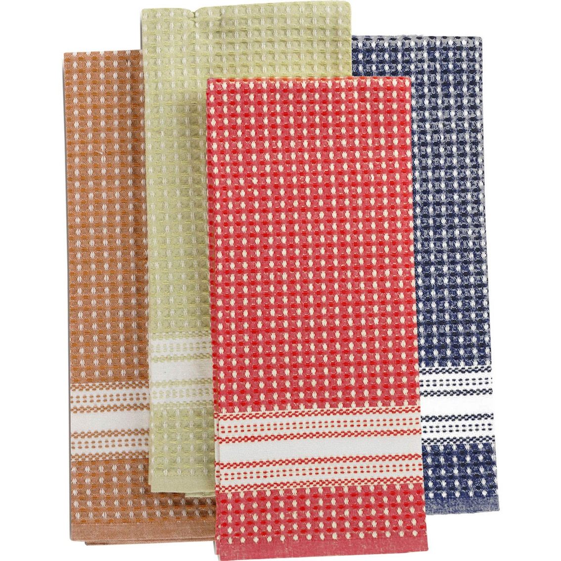 Martha Stewart Kitchen Towels: Martha Stewart Collection Waffle Weave Kitchen Towels Set