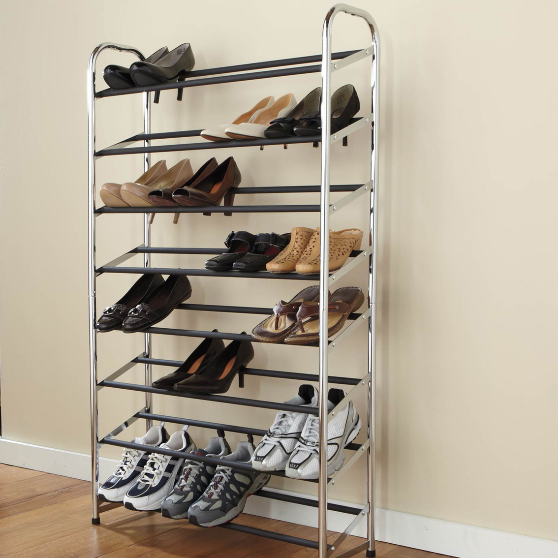 hanging plus well wooden for white stained furniture closets organizer shoes as collection cabinet rack and unfinished your garage cabinets saving captivating shoe closet clothes