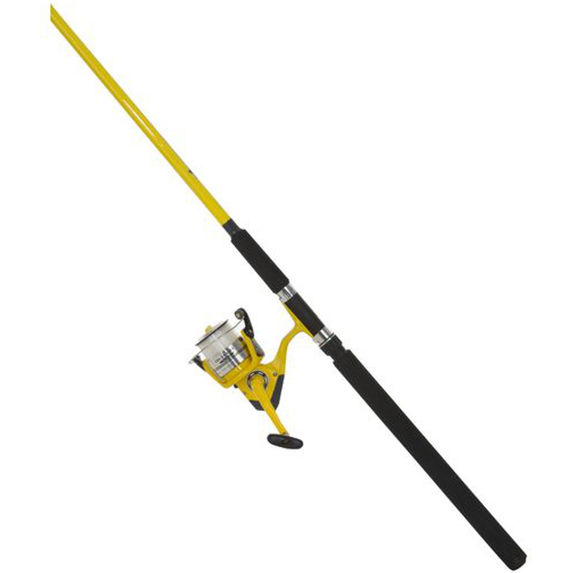 Okuma fin chaser spinning combo yellow saltwater rods for Saltwater fly fishing combo