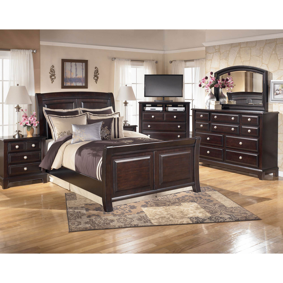 signature design by ashley ridgley 5 pc bedroom set bedroom sets home appliances shop