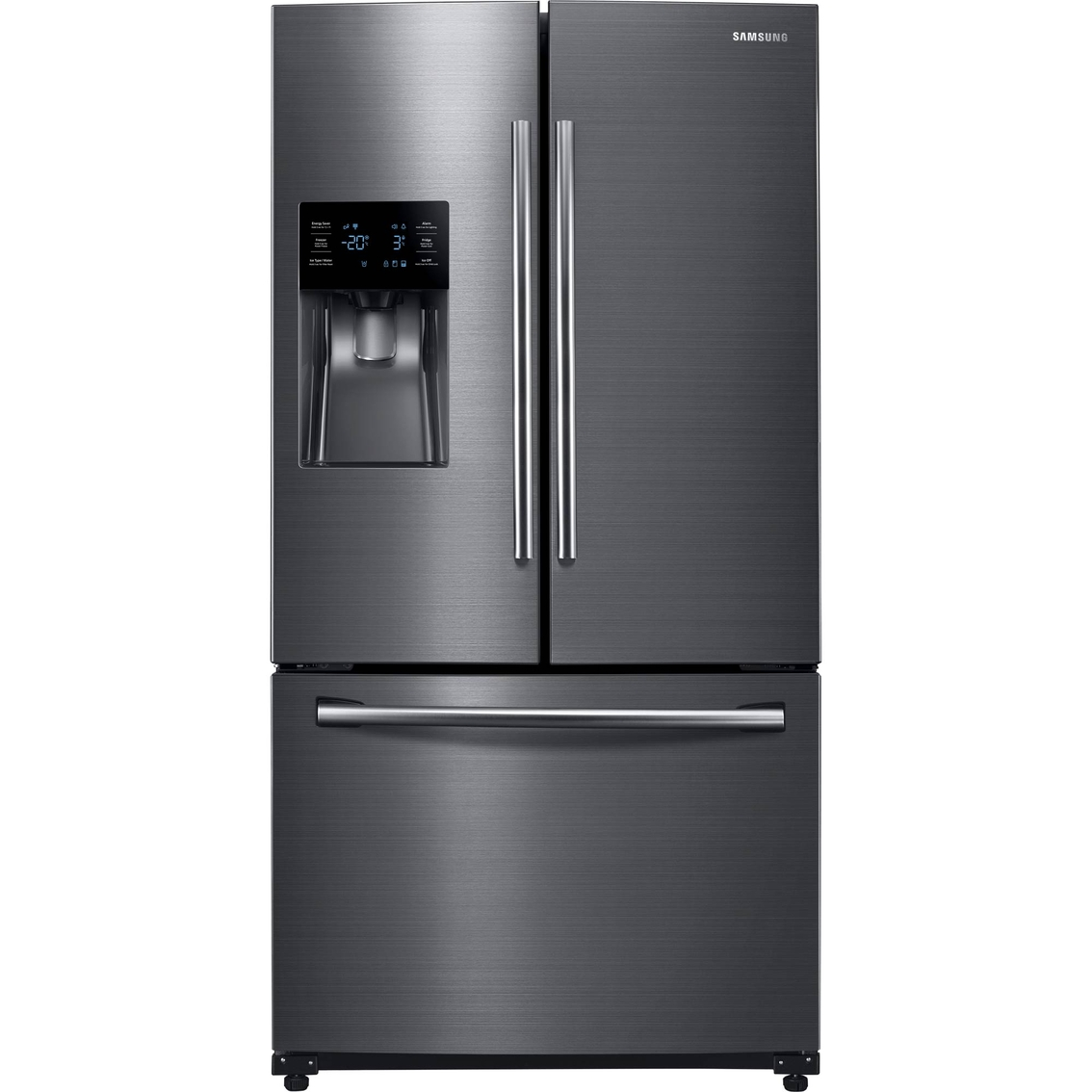 Samsung 25 Cu  Ft  French Door Refrigerator With External