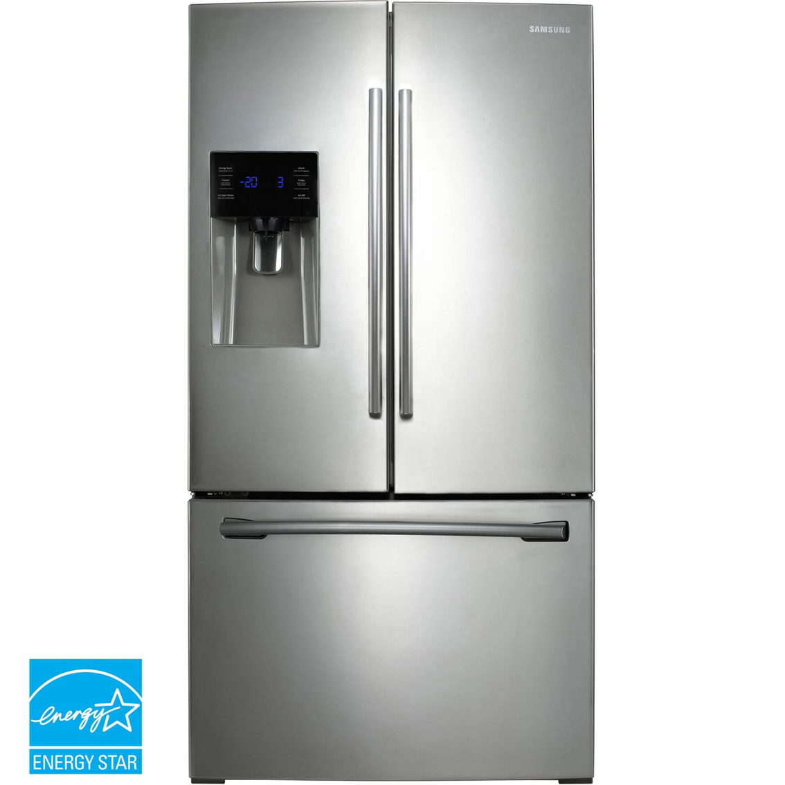 Samsung 25 cu ft french door refrigerator with external water samsung 25 cu ft french door refrigerator with external water and ice dispenser rubansaba