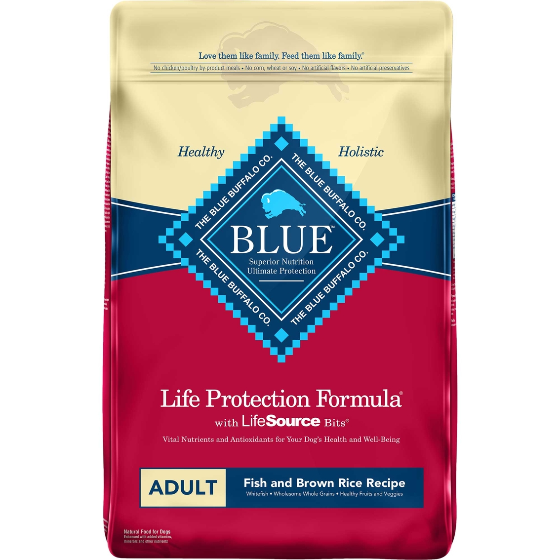 blue buffalo adult fish and sweet potato dog food blue