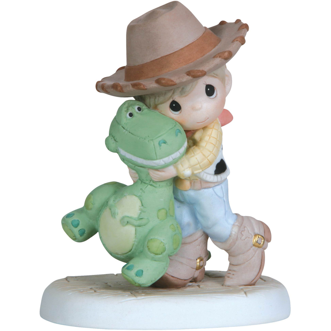 Toy Story Figurines : Precious moments our love will never go extinct figurine