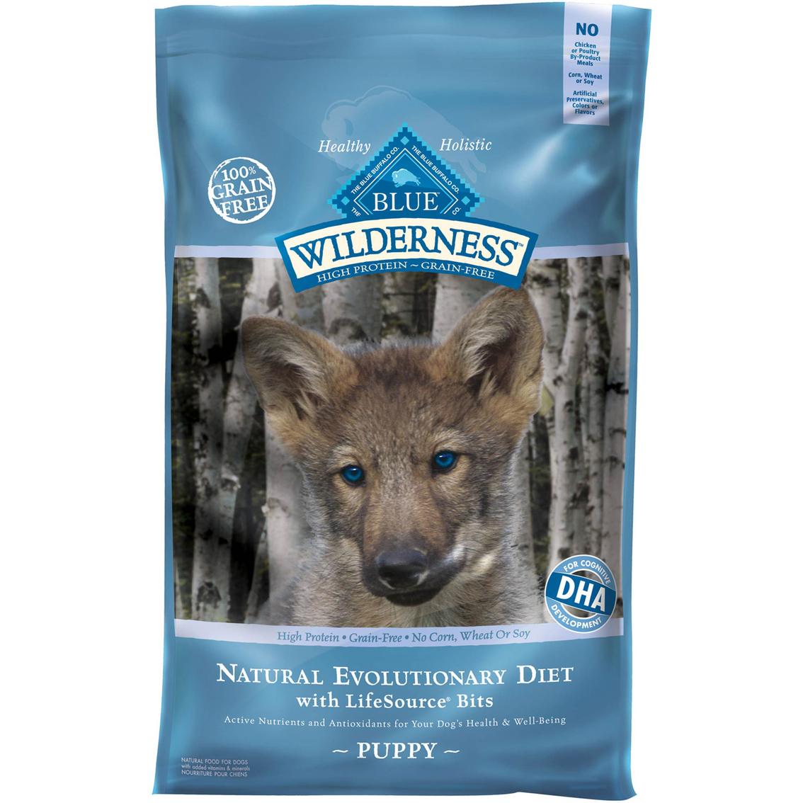 Blue Buffalo Wilderness Puppy Chicken Dog Food Blue