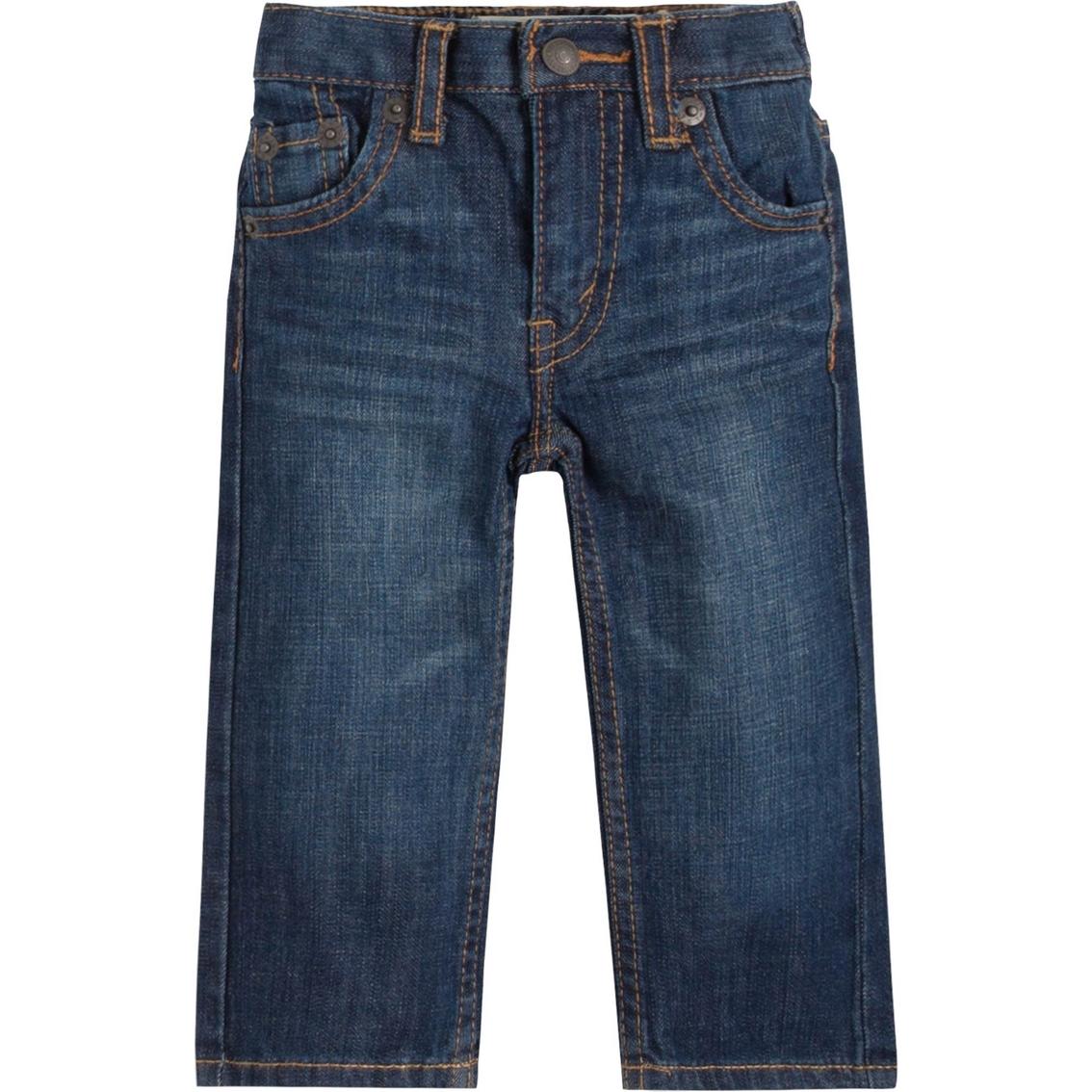 Levi's Infant Boys 526 Regular Fit Denim Blue Jeans | Toddlers ...