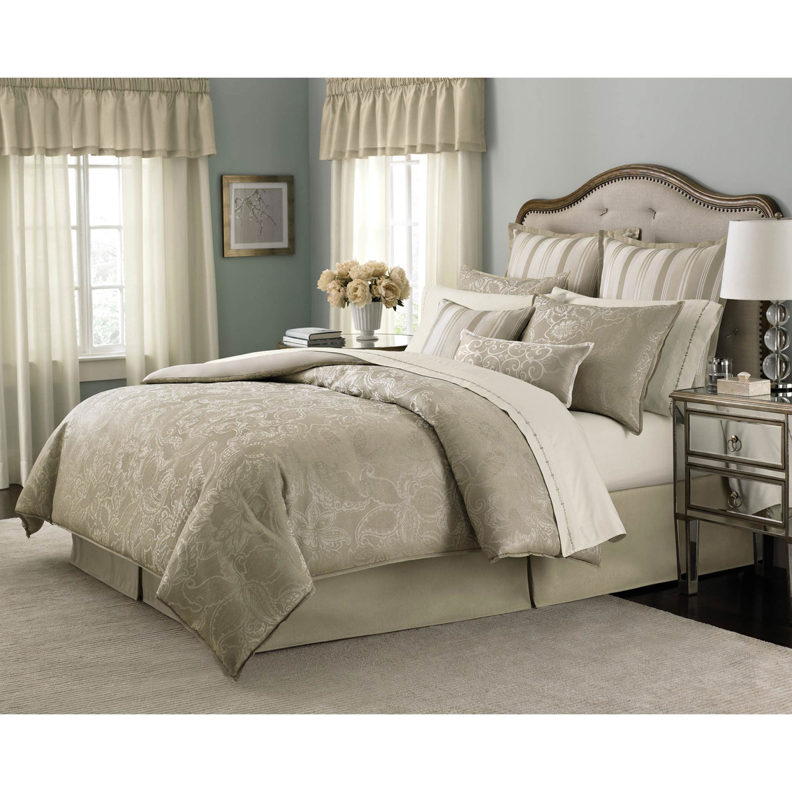 Martha Stewart Collection Gated Garden 24 Pc. Comforter ...