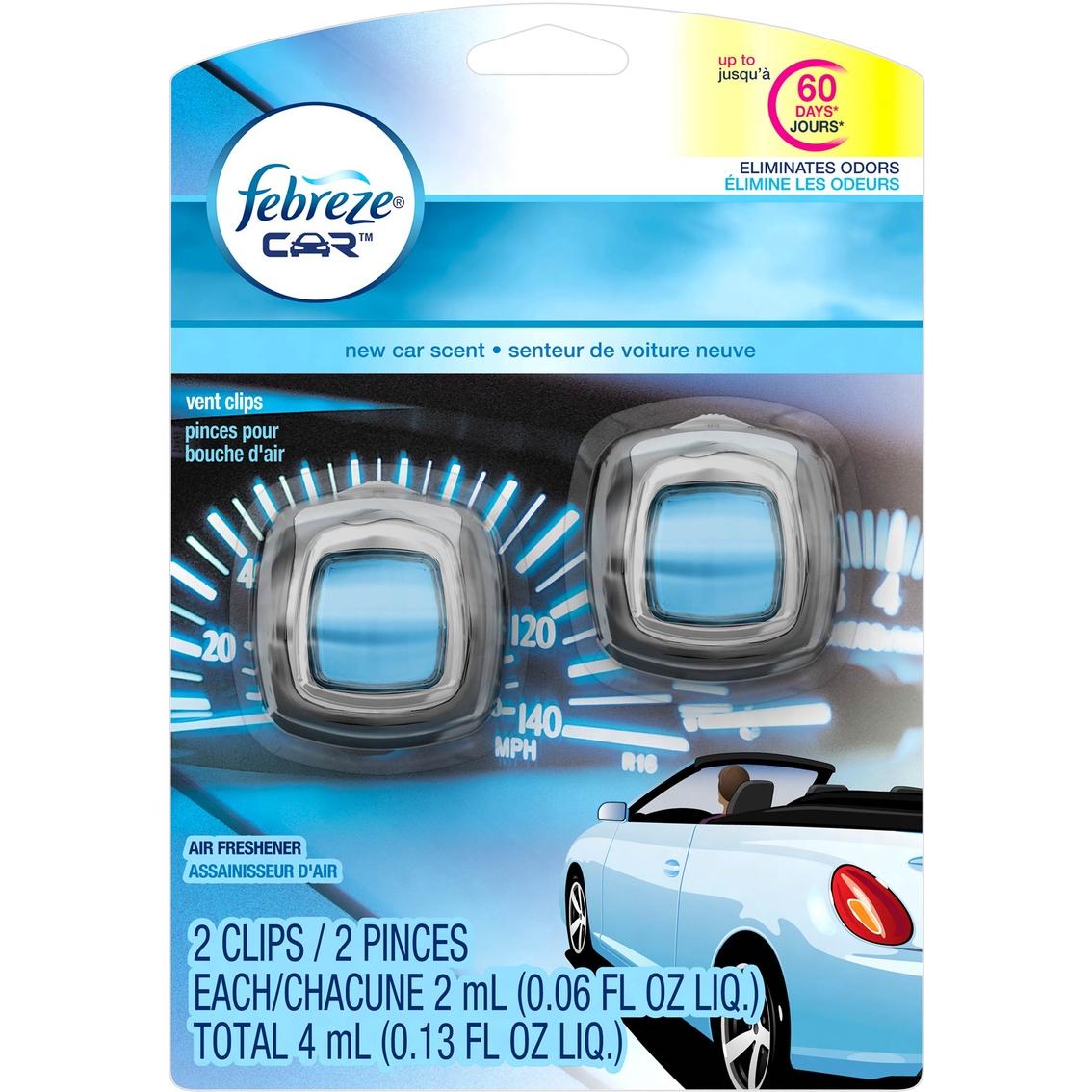 Febreze New Car Scent Car Vent Clip 2 Pk  | Air Fresheners