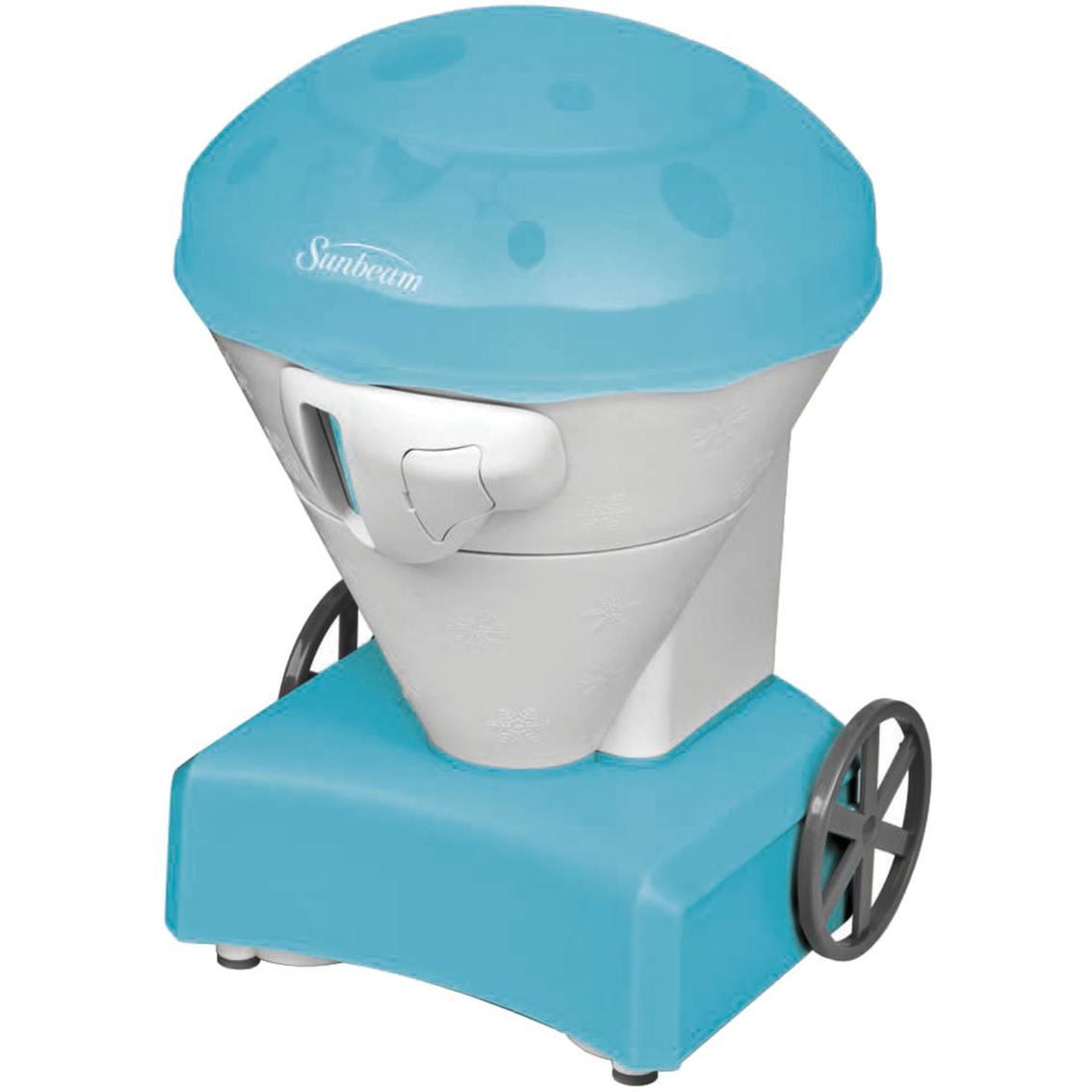 Sunbeam Snow Cone Cart Ice Shaver, Blue | Ice Cream & Dessert Makers ...