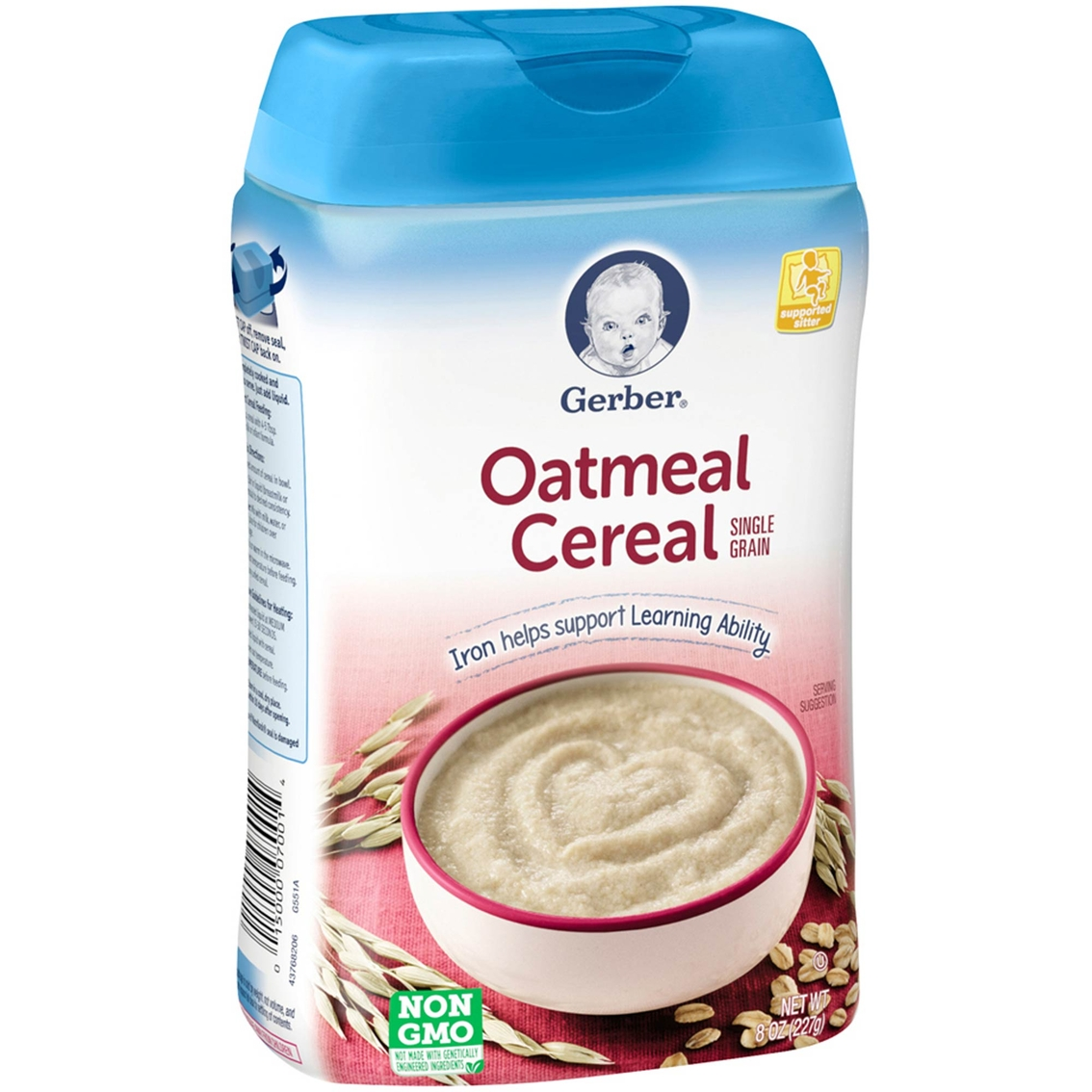 Gerber 8 Oz. Single Grain Oatmeal Cereal