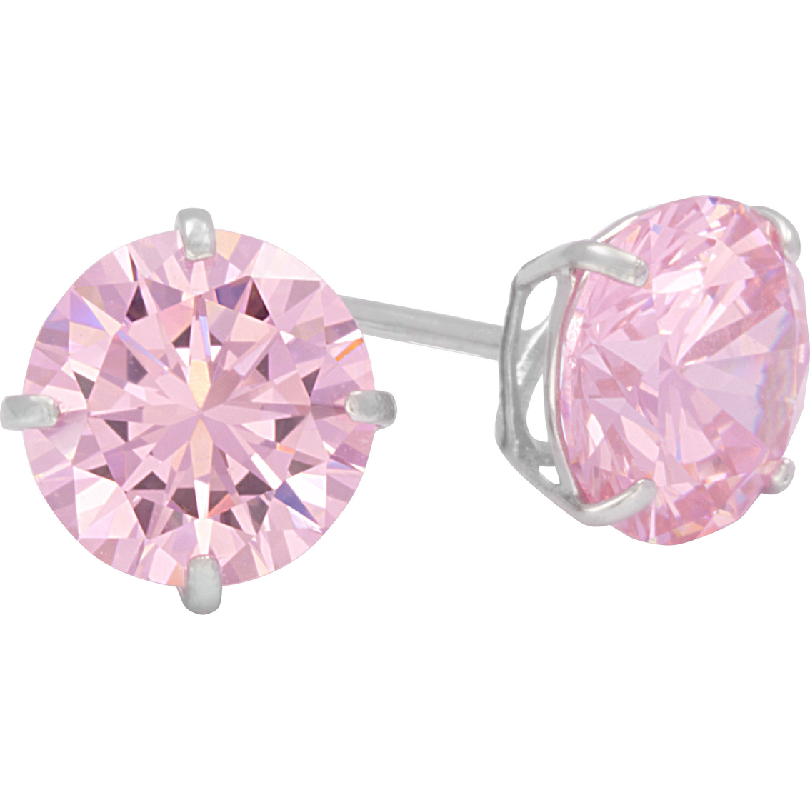 earrings pink product stud blush crystal petite