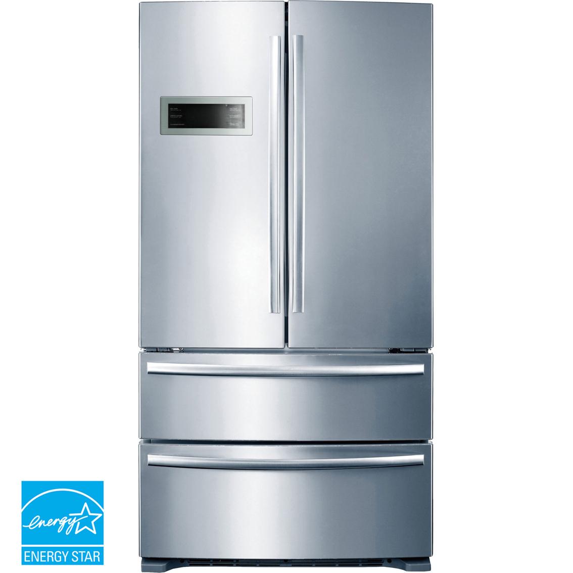 Midea Appliances: Midea 20.8 Cu. Ft. French Door Refrigerator