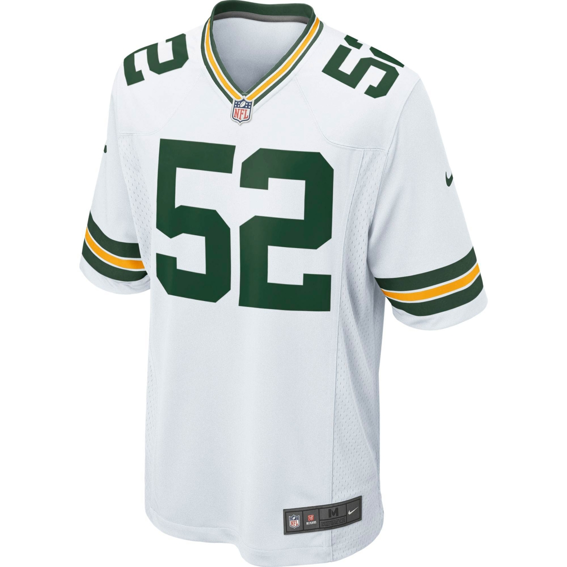 official photos b3de4 c0a58 Nike Nfl Green Bay Packers Men's Clay Matthews White Game ...