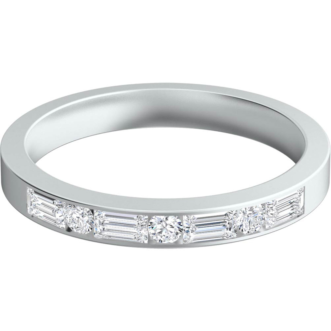 Sasha Primak Platinum 12 Ctw Baguette And Round Diamond. Platinum Diamond Band. Curb Link Bracelet. 3 Carat Diamond. Diamond Ring With Diamonds All Around The Band. Gift Box Watches. Buy Crystal Beads. Wide Engagement Rings. Chocolate Diamond Bands