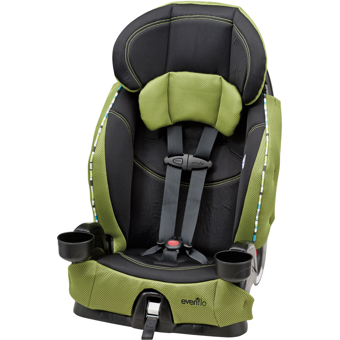 evenflo chase lx harnessed booster car seat car booster seats baby toys shop the exchange. Black Bedroom Furniture Sets. Home Design Ideas