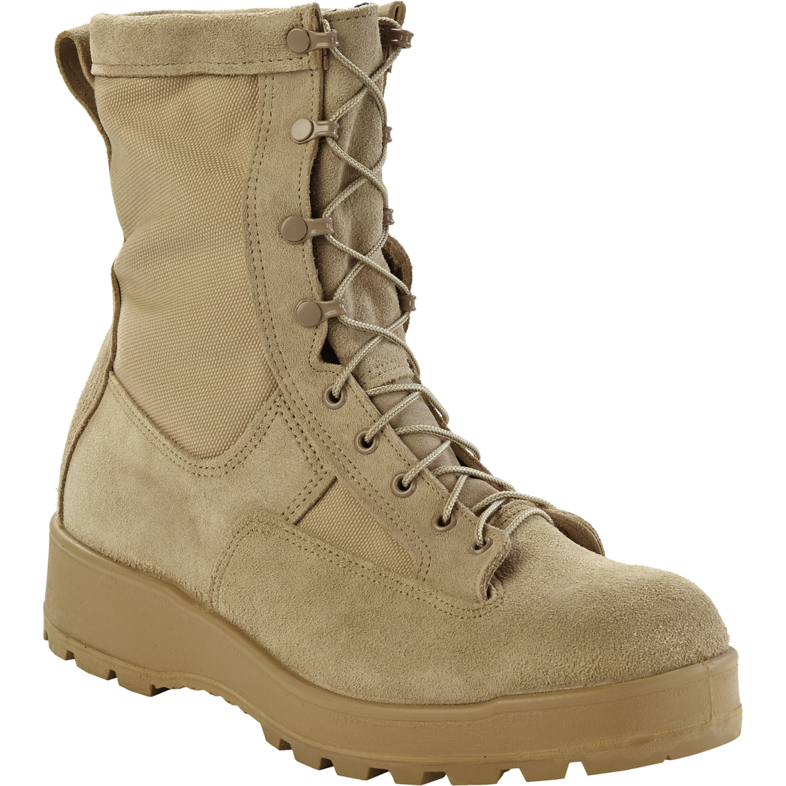 Dlats Issued Army Temperate Weather Combat Boots | Desert Tan ...
