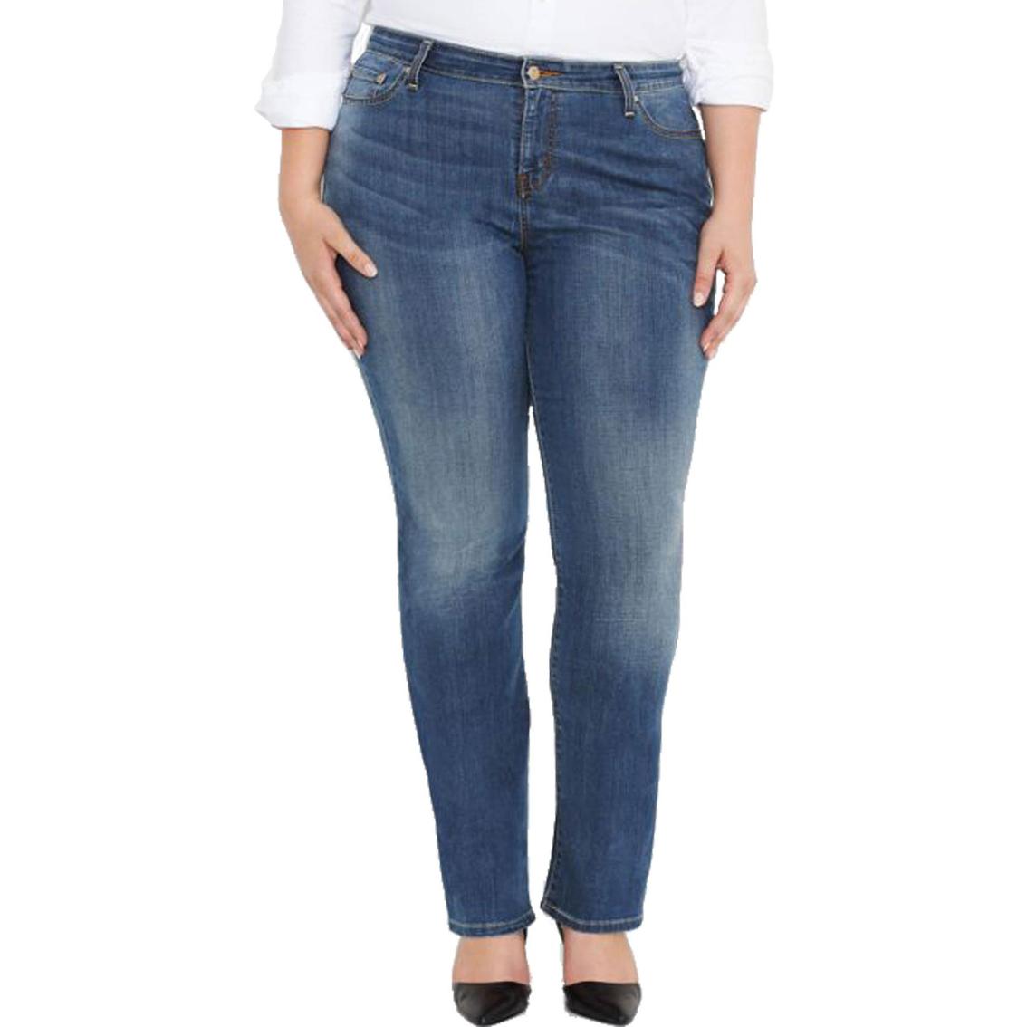 f463d76176757 Levi s 580 Plus Size Curvy Straight Jeans