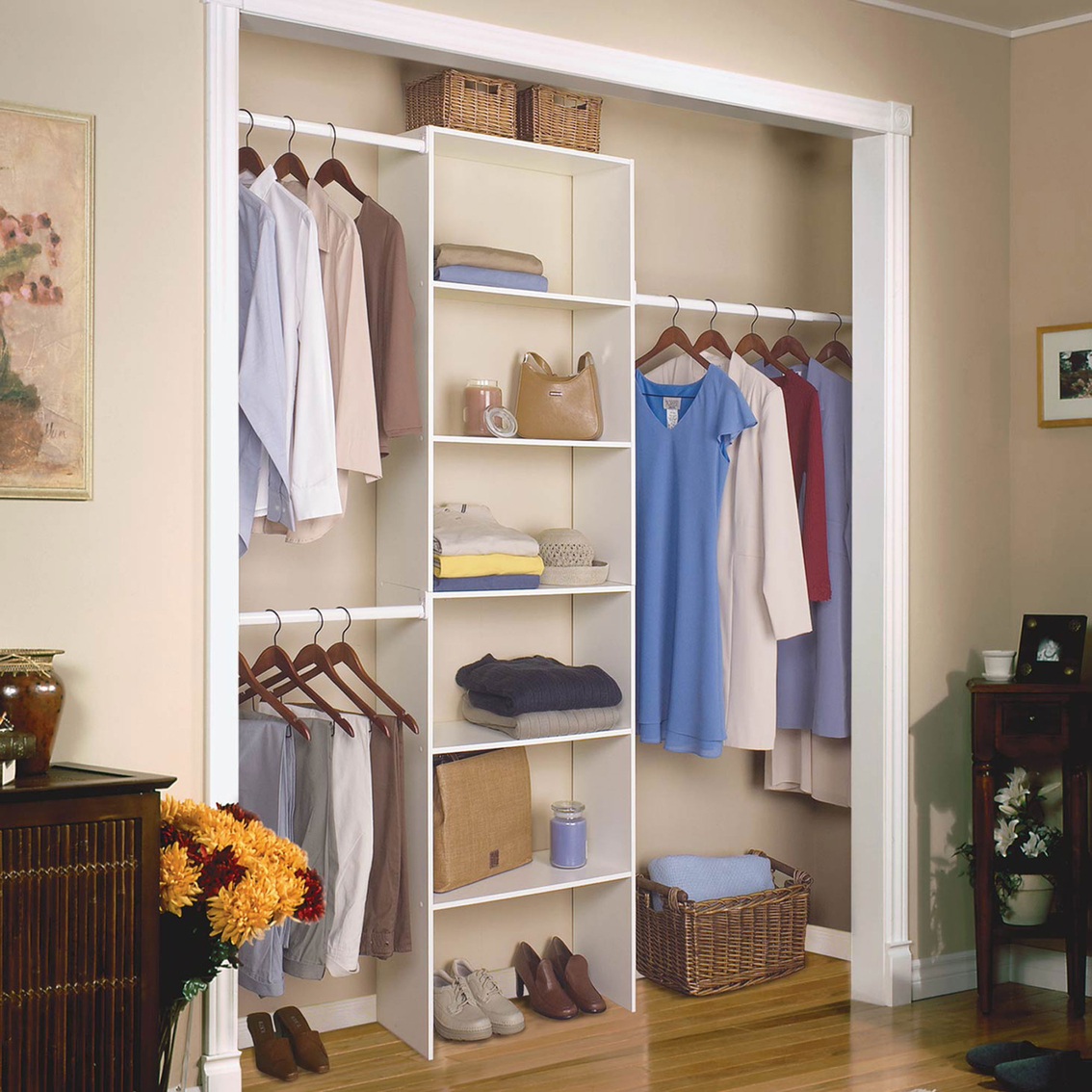 showroom organizer simple closets in reach custom systems organizers hawaii go to closet