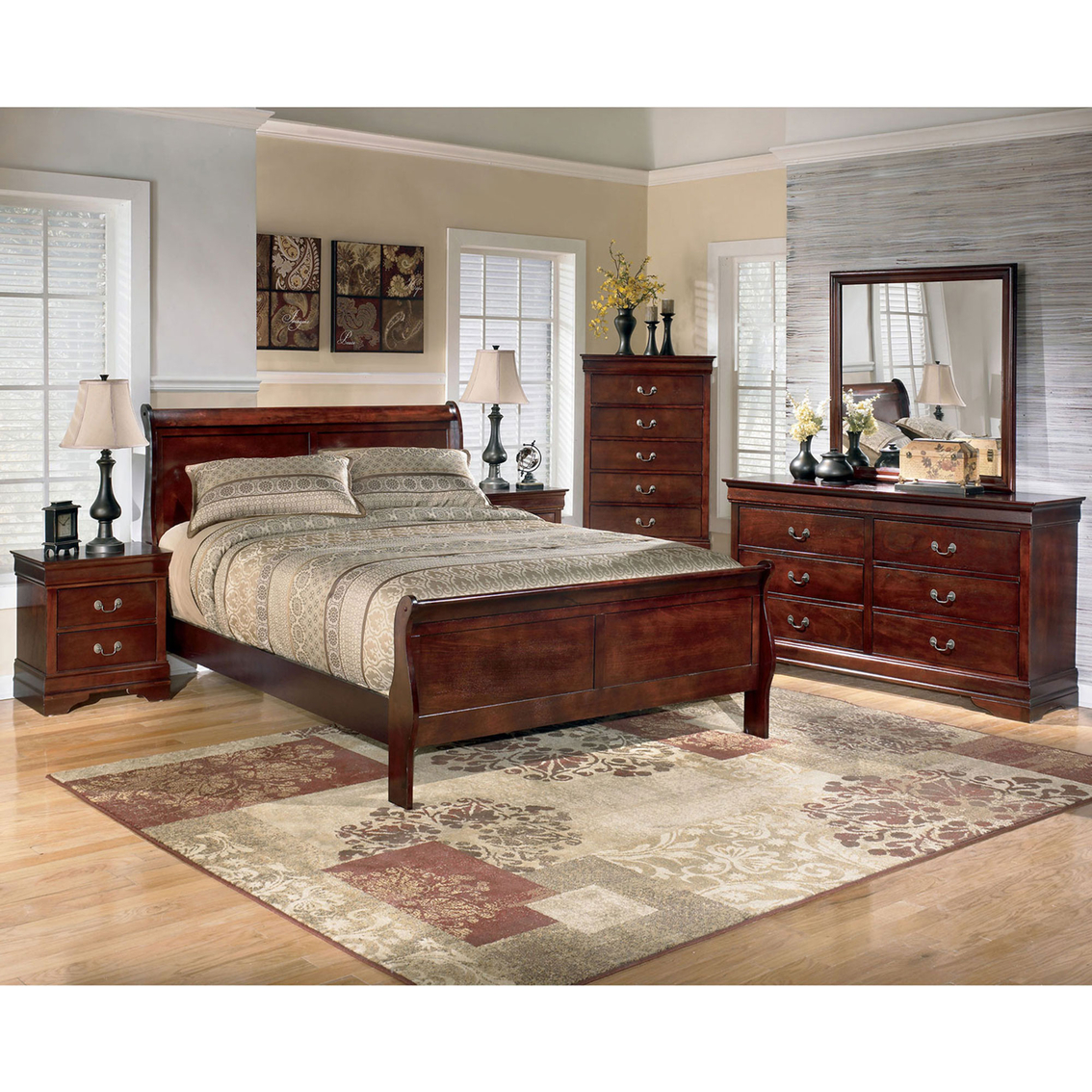 Merveilleux Signature Design By Ashley Alisdair 5 Pc. Bedroom Set
