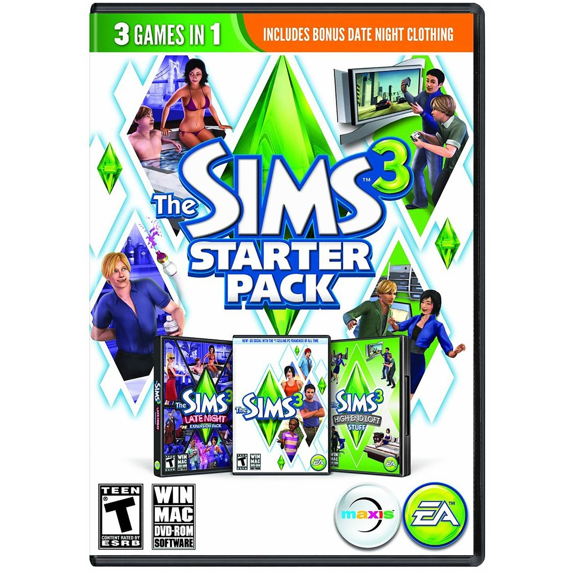 The Sims 3 Starter Pack Pc Pc Games Electronics Shop The