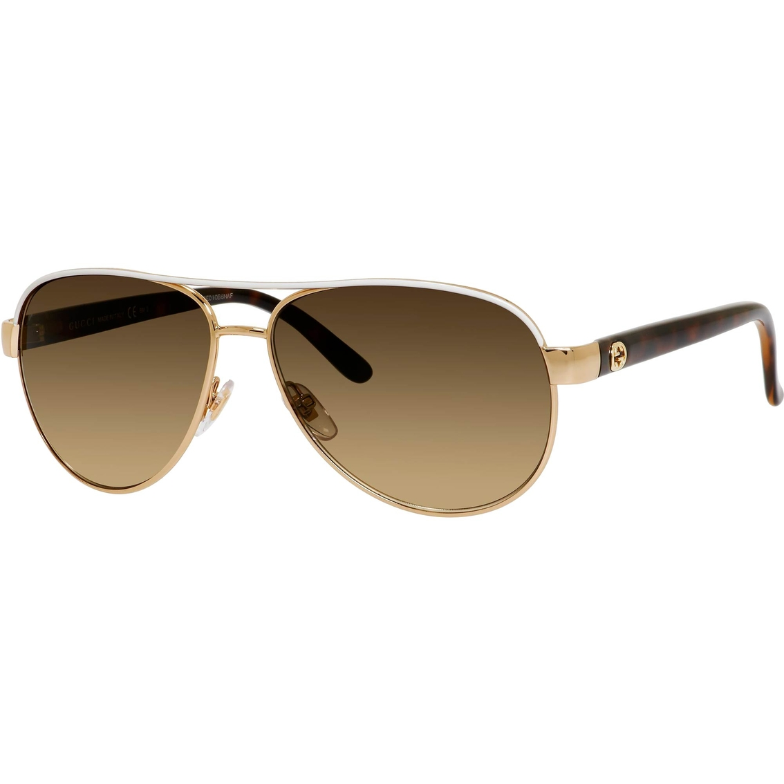 2ba7e2fe2b7 Gucci Small Aviator Sunglasses