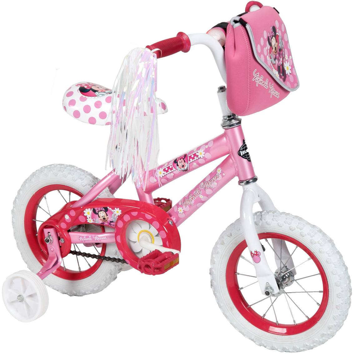 Huffy Disney Minnie Mouse 12 In Bicycle Kids Bikes