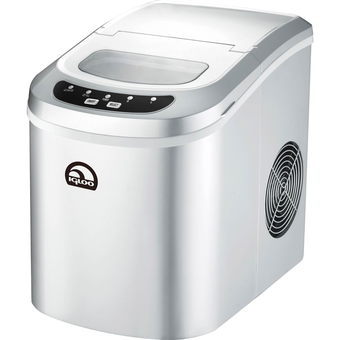 Igloo Countertop Icemaker 26 Lb. Silver Water Filtration/ice ...