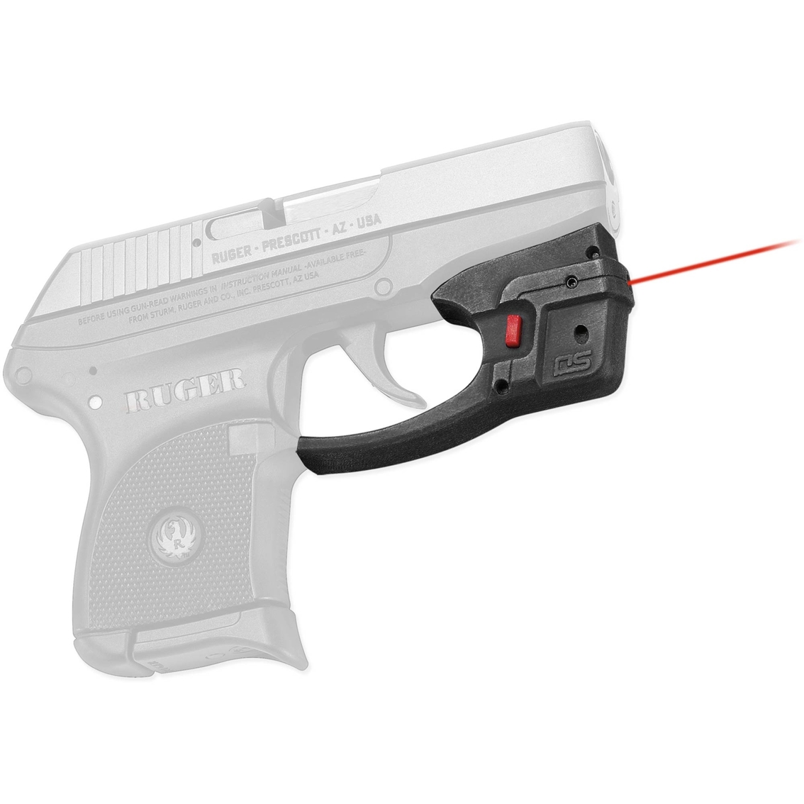Crimson Trace Corporation Defender Accu-guard Laser For Ruger Lcp