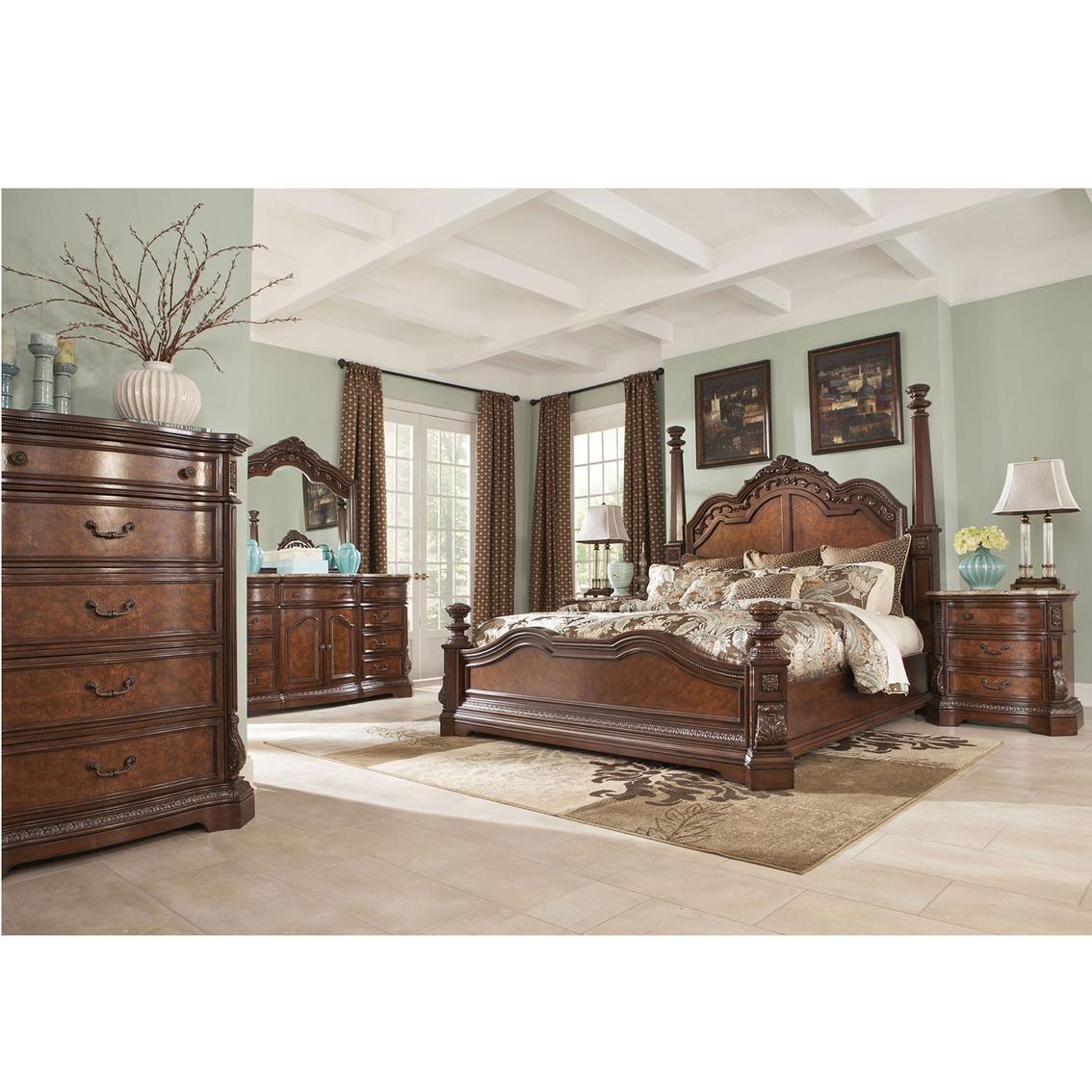Signature Design By Ashley Ledelle 5 Pc Bedroom Set Bedroom Sets Furniture Appliances Shop The Exchange