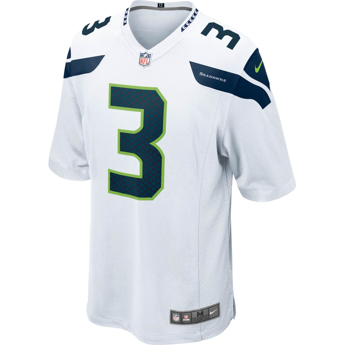 Nike Nfl Seattle Seahawks Russell Wilson White Game Jersey  04bae5886