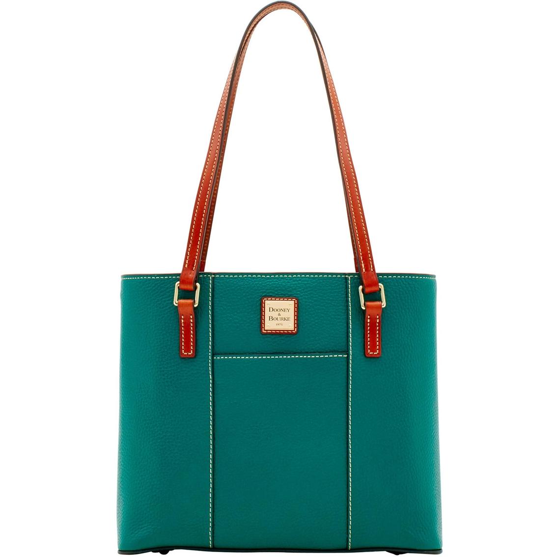 3dd138381ceb Dooney   Bourke Pebble Leather Small Lexington Shopper Handbag ...