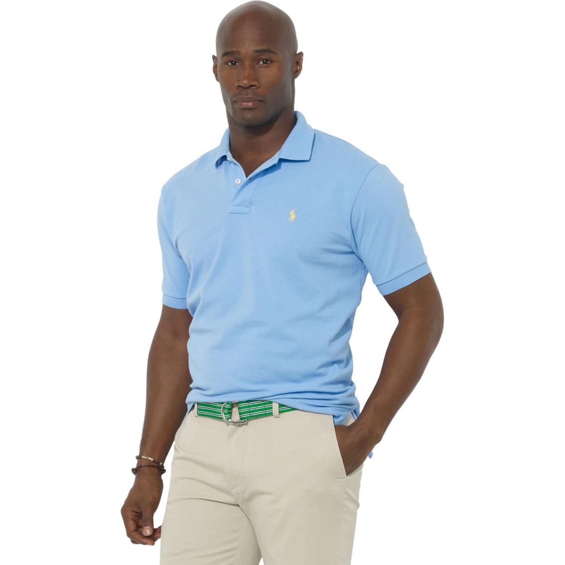 - Vansport™ Omega Solid Mesh Tech Polo