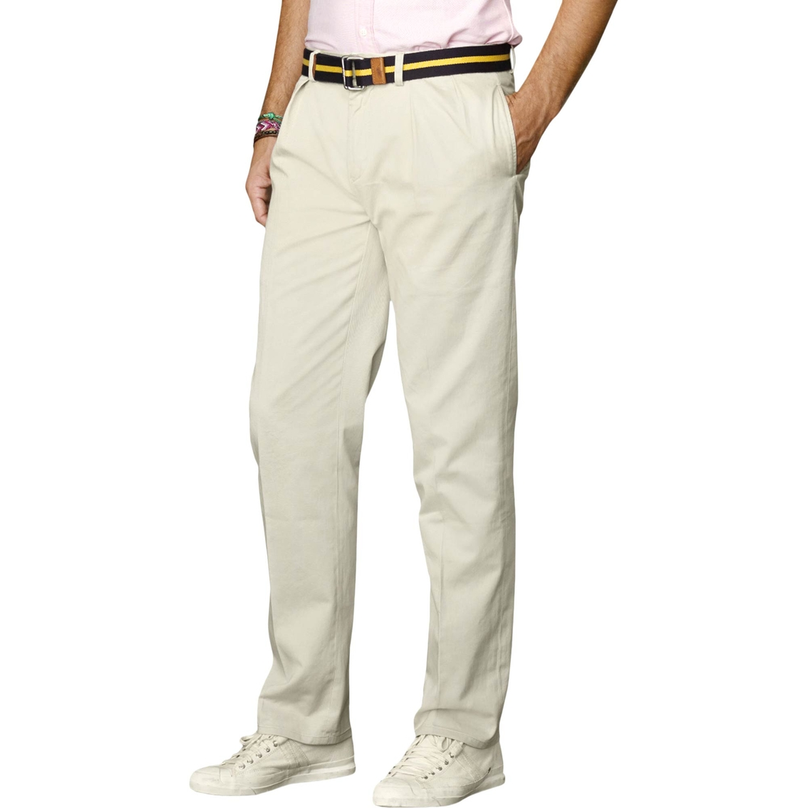 a3b0fa471d77d Polo Ralph Lauren Big   Tall Classic Fit Pleated Chino Pants