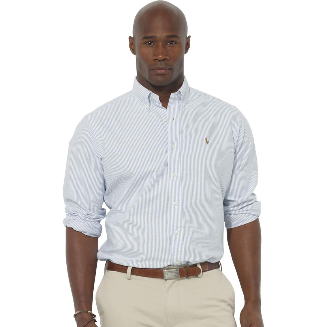 Polo Ralph Lauren Big \u0026 Tall Classic Fit Solid Oxford Sport Shirt