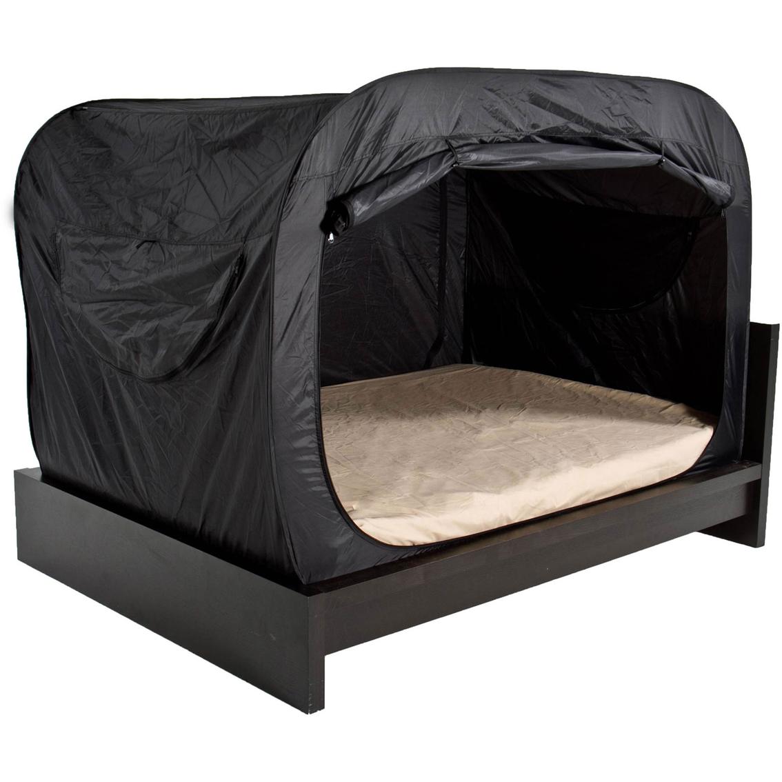 privacy pop bed tent beds home appliances shop the exchange. Black Bedroom Furniture Sets. Home Design Ideas