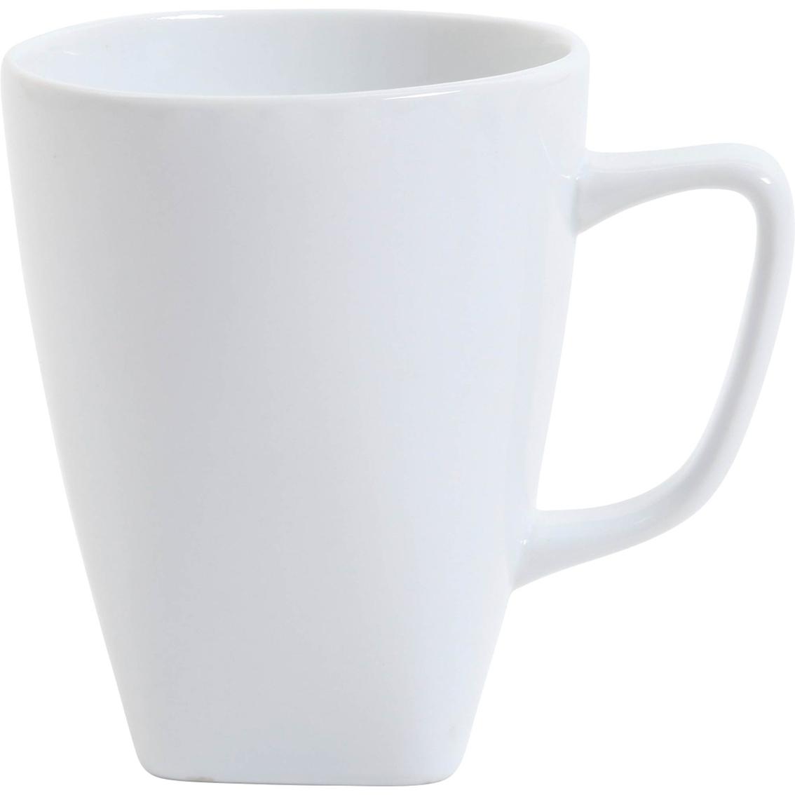 gibson elite gracious dining 12 oz square mug coffee tea mugs